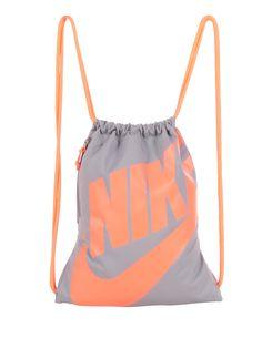 Nike Heritage Gymsack grey orange