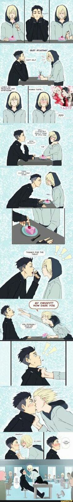Seems like something Yurio would do xD
