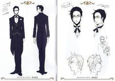 Risultati immagini per kuroshitsuji character design