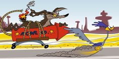 Wile E. Coyote and the Road Runner