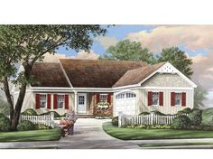 ePlans Ranch House Plan – 1445 Square Feet and 3 Bedrooms from ePlans – House Plan Code HWEPL75753