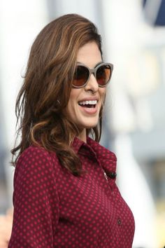 For lots of body, coat hair with a curl-enhancing cream and then dry in sections with a round brush. Finish with a blast of cool air to set the style.   - Redbook.com