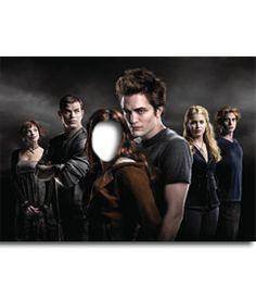 #Fotomontaje de #cine. Pon la cara que quieras en el cuerpo de #Bella, la protegida del grupo de #vampiros en la saga #Crepúsculo. www.fotoefectos.com