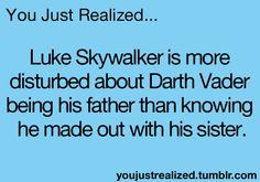 You Just Realized.....hahahahaha!
