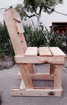 Cadeira de paletes