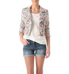 Jacquard jacket by Promod