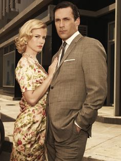 Hot #MadMen couple