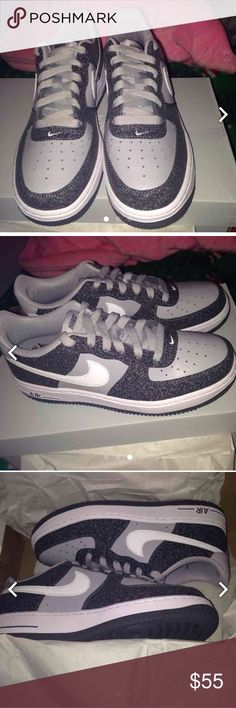 Bnwt air force one Bnwt nike air force one, gradeschool sz 5.5 which will fit women sz 7.5/8. They run a little big. Nike Shoes Sneakers