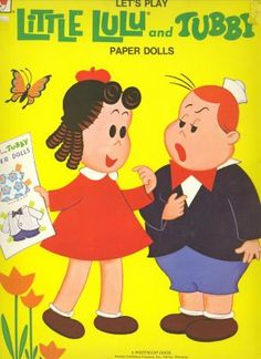 Little Lulu & Tubby - (CL for 2 dolls & clothes) #P-1-15