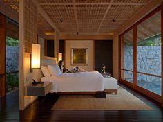 Beach Villa Bedroom area