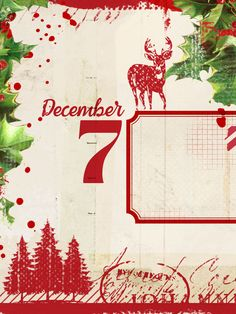 Countdown to Christmas Day 7! You will want to collect all of these cards to add a special note to your December albums. Each day I'm sharing a new FREE printable journal card! These are 3×4 and work nicely in … Continue reading →