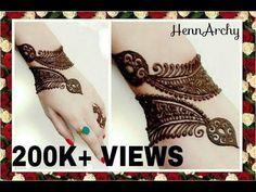 Bracelet Henna Design 4/20... - YouTube