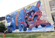 Aryz New Mural In Kosice, Slovakia   StreetArtNews
