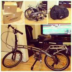 Gotham 24 7 Citizen Folding Bike 24 7 Speed With Alloy Frame