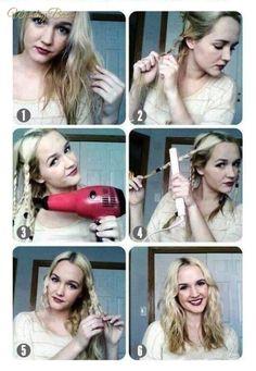 Como hacer ondas en tu cabello