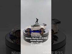 Nissan Skyline R35, Skyline Gt, Micro Rc Cars, Rc Drift, Car Ins, The Creator, Rock, Skirt, Locks