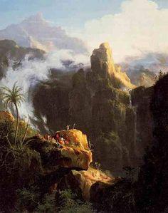 Томас Коул св. Иоанн в пустыне