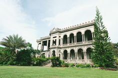 The Ruins is what is left of the Mariano Ledesma Lacson Mansion — fondly called the Taj Mahal of Negros, as it was built in tribute of Don Mariano's wife who had died during childbirth. Photo courtesy of SEDA