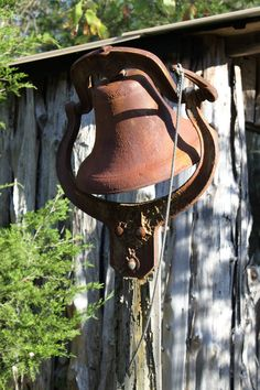 Farmers Dinner Bell At Old Farm House