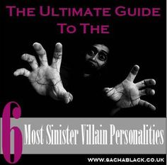 Some villains are just plain nuts, right? Wrong. On a serious note, whether it's done consciously or not, I think there are some illnesses and mental disorders that often sit behind some of t…