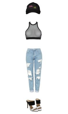 """irl"" by prettyroses ❤ liked on Polyvore featuring Dsquared2 and Topshop"