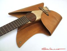 Leaf Guitar by Ezequiel Galasso, via Behance