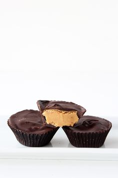 Homemade Peanut Butter Cups - so much better than store bought!