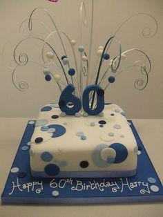 60th Birthday Cakes Photo