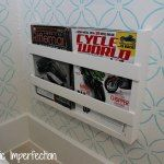 $5 Built-In Magazine Rack — Domestic Imperfection