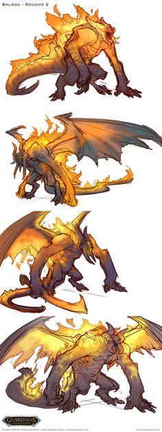 vinodrams - Guardians of Middle Earth>Balrog