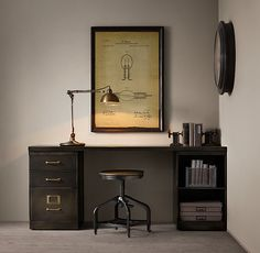 Shop For Industrial Modular Office Double Storage Desk System By Restoration  Hardware At ShopStyle.