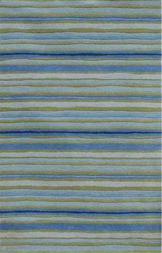 Coastal Living Hand-Tufted Rug / Sawgrass Pastel Blue / Pastel Blue