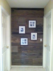 Reclaimed Barn Wood Wall!!