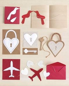 DIY garland cards with templates