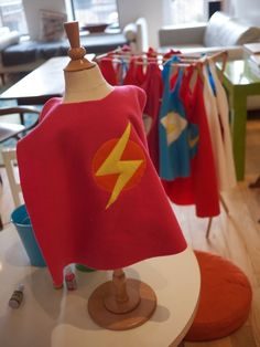 Our superhero birthday party. The power of capes to bring a party to the next level cannot be overstated.