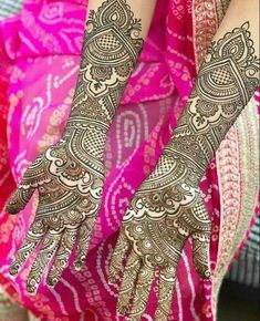 Bridal Full Hand Mehndi Designs to make your wedding day special and memorable. These designs will give your hands new look and color!