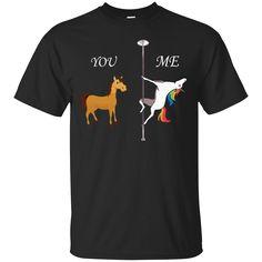 Unicorn: You and me t-shirt hoodie long sleeve