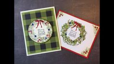 """Stampin"""" UP! Feeling of Crhistmas Card with So Sally Paper Craft"""