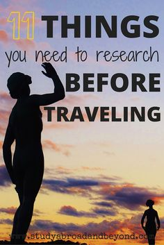 """A checklist for all of the """"not fun"""" things to remember to research for your trip 