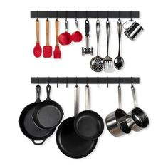 Kitchen Pots /& Pans//Utensils Hanging Space Savers 12x Small Chrome Ball End S Hooks