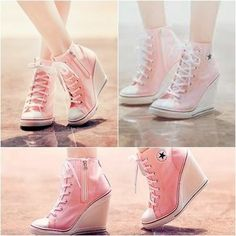 Converse wedges - so cute!