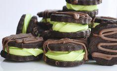 Kakaovo-pepermintove keksiky