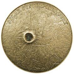 Box /& COA 2016 Niue Eye Of The Sahara Colorized Antique 1oz .999 Silver Coin