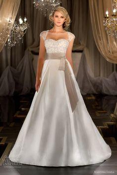Martina Liana 2012-2013 Wedding Dresses | Wedding Inspirasi.  Really like this - especially the sleeves