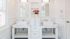 White, fresh and perfect Bathrooms   JAS Design Build