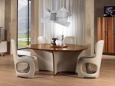 round table with lazy susan desyo round table carpanelli contemporary wooden walls wooden