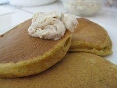 Pumpkin Pancakes w/ Cinnamon Butter