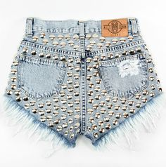 shorts diy diy shorts dyed shorts shorts high waisted leather black shorts with spikes shorts high waisted ying yang tie dye shorts denim shorts with suspenders girl swagg swag swag girl studs studded shorts shorts jeans jeans shorts missdenim sparkly Denim Shorts Outfit, Diy Shorts, Ripped Shorts, Cute Shorts, High Waisted Shorts, Waisted Denim, Black Shorts, Swag Outfits For Girls, Short Outfits