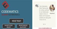 CodeMatics  Testimonial Slider