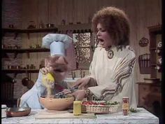 The Muppet Show: Swedish Chef Salad with Cleo Laine Face The Music, My Music, Happy Things, Funny Things, Swedish Chef, Chef Salad, The Muppet Show, The Dark Crystal, Jim Henson